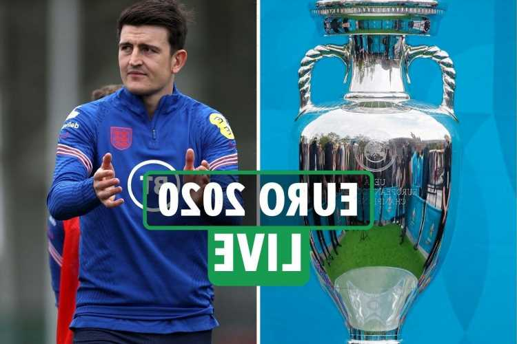 Euro 2020 LIVE: England vs Croatia build-up, Maguire ...