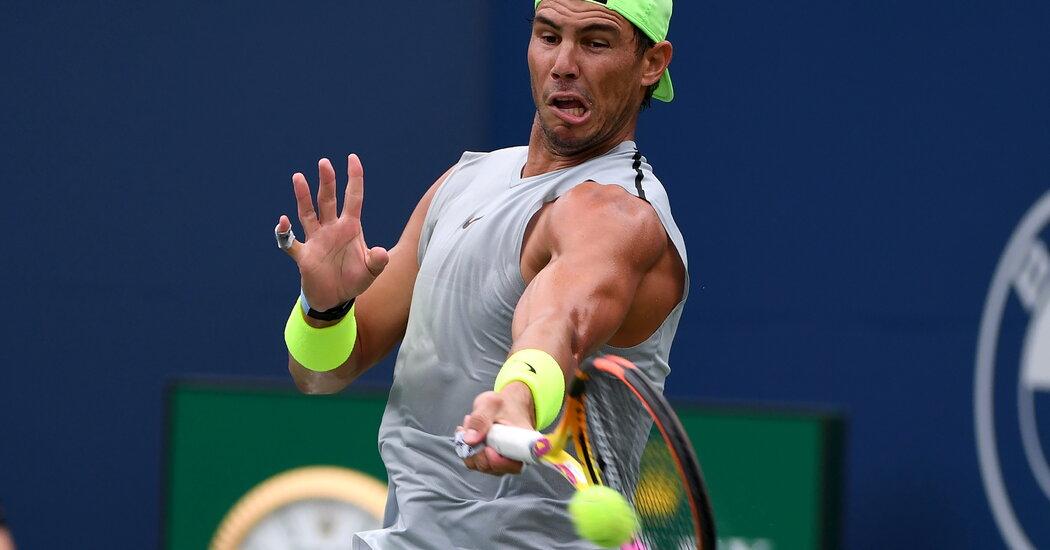 Top Stars in Tennis Choose Rest Ahead of the U.S. Open ...